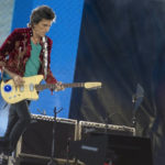 Ronnie Wood - Old Trafford - Mike Ainscoe