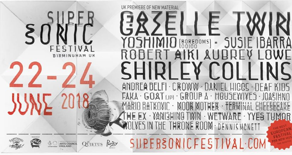 10 things you will see at the great Supersonic festival that you won't see anywhere else…the return of The UK's premier experimental music and arts event