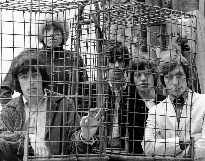 Stones Caged - Gered Mankowitz