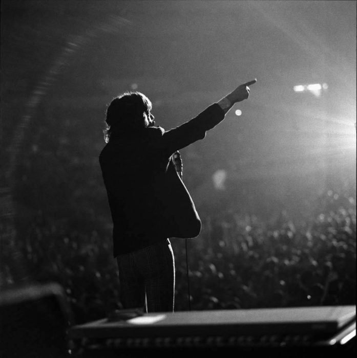 The Rolling Stones - Mick Jagger - Gered Mankowitz