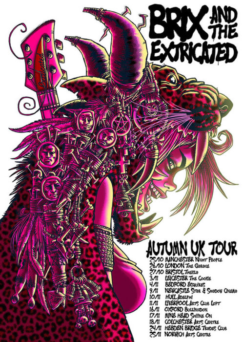 Brix & The Extricated Tour Poster
