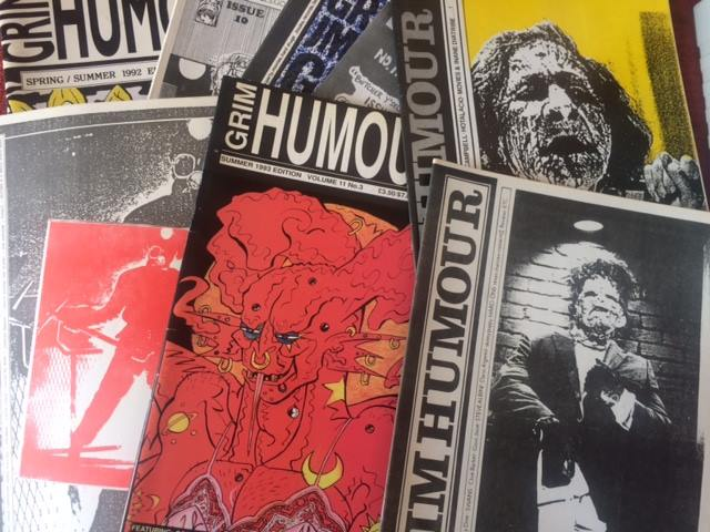Grim Humour fanzine to be published in book form;