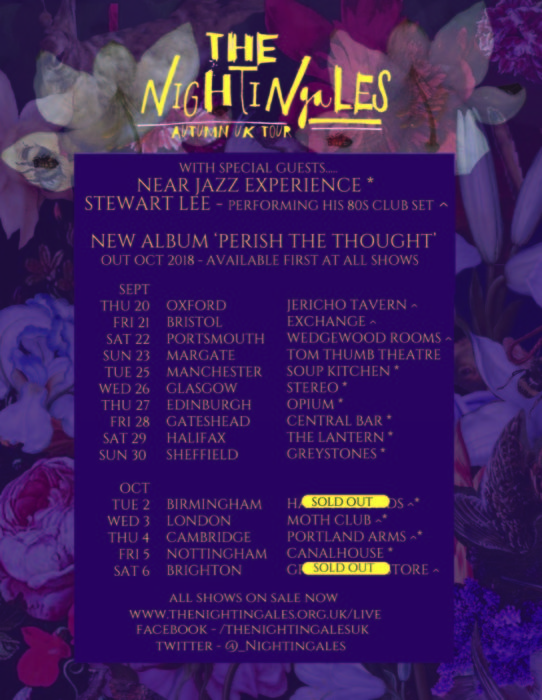 nightingales tour