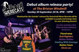 Werecats Launch Gig
