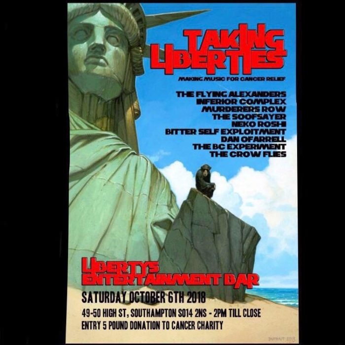 libertys gig poster