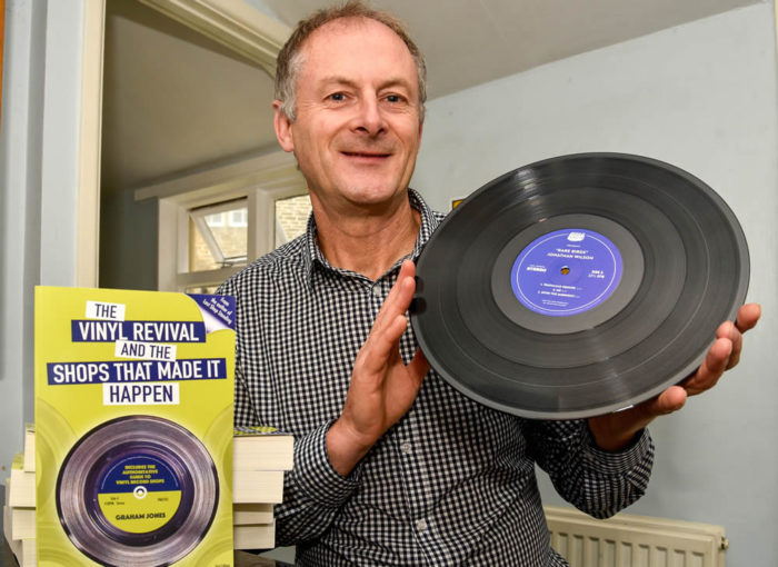 Graham Jones- vinyl record collector and author 4