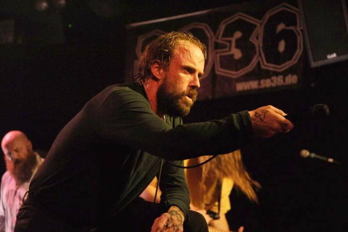BERLIN, GERMANY - NOVEMBER 11: Idles at SO36 Berlin on November 11, 2018 in Berlin, Germany. (Photo by Martyn Goodacre)