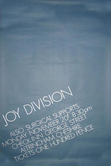 Joy Division - Altrincham Check Inn - retro review