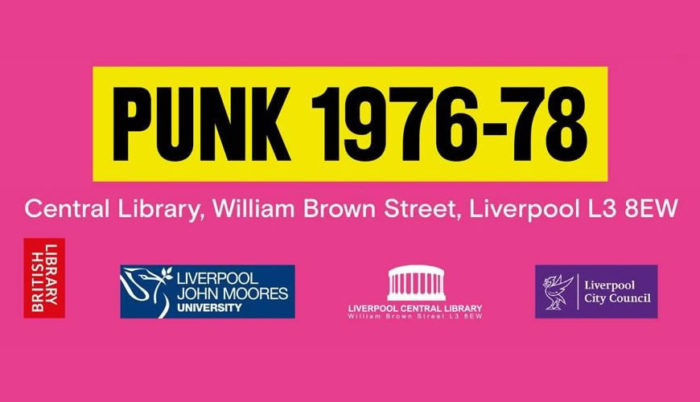 Punk 1976-1978 Liverpool Central Library
