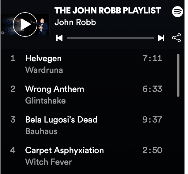 LISTEN! THE JOHN ROBB PLAYLIST : old, news borrowed and blue – anew weekly list of new bands and old classics