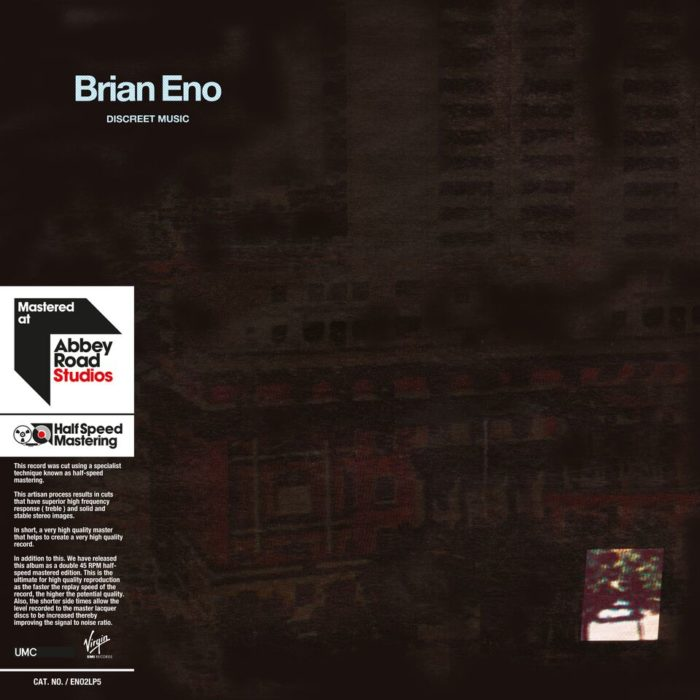 Brian Eno: Discreet Music / Music For Films / Music For