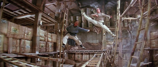 Jet Li - Ladder Fight