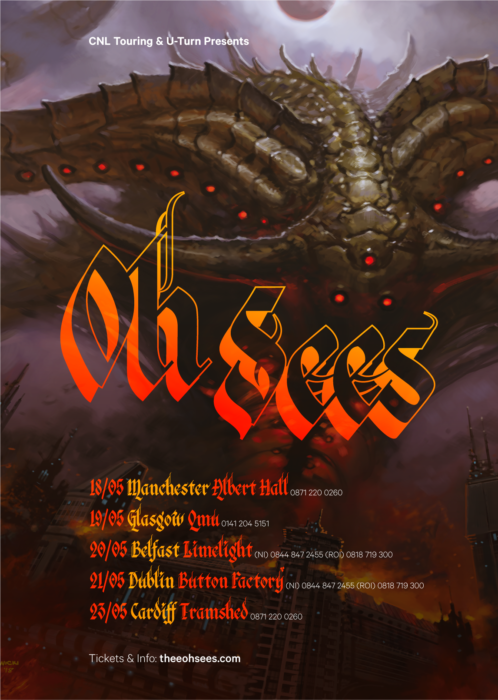 Oh Sees UK Tour