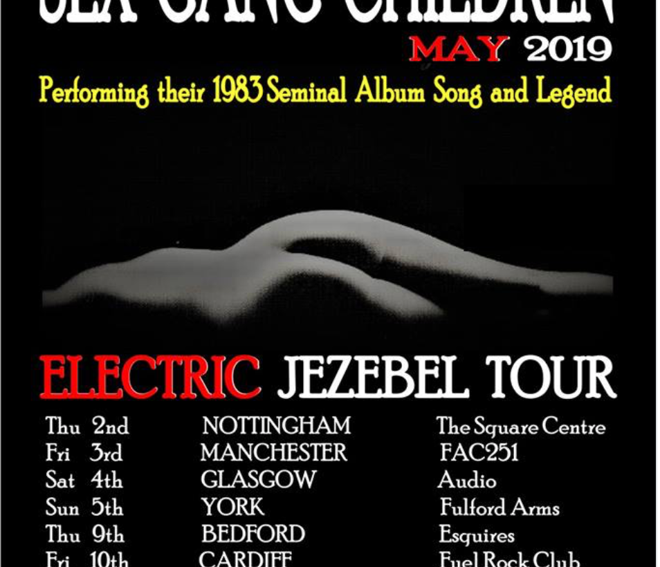 Sex Gang Children announce special tour where they will play classic album