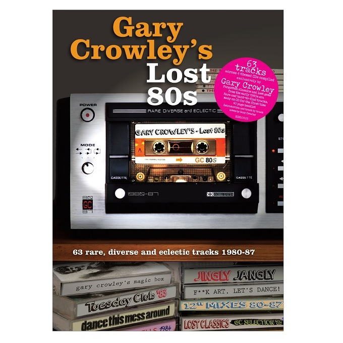 Gary-Crowley-Lost-80s album cover