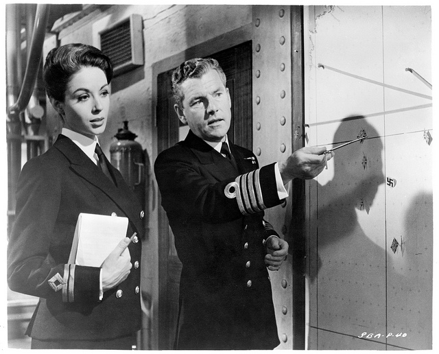 Dana Wynter & Kenneth More