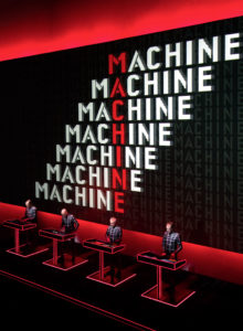 KRAFTWERK Fondation Louis Vuitton Paris MAN MACHINE