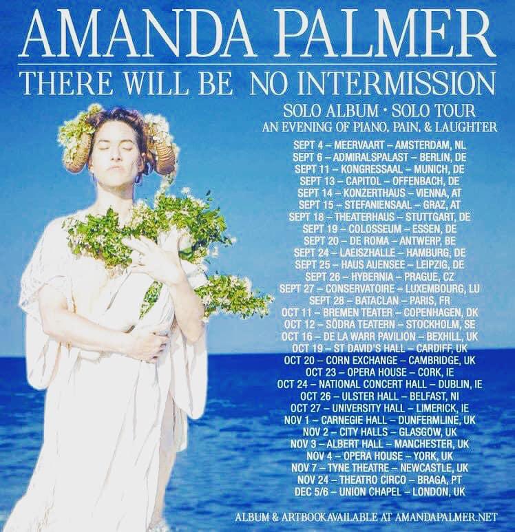 Amanda Palmer tour 2019