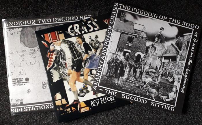 Crass 3 reissues - Copy