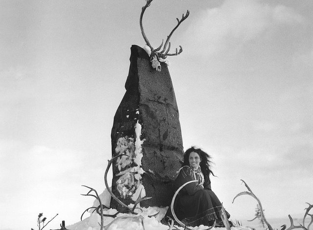The White Reindeer - Stone God Monument