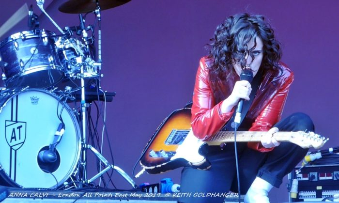 ANNA CALVI - All Points East by Keith Goldhanger May 2019 Louder Than War