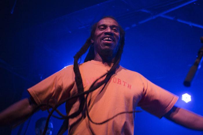 Dub poet Benjamin Zephaniah live in Bristol