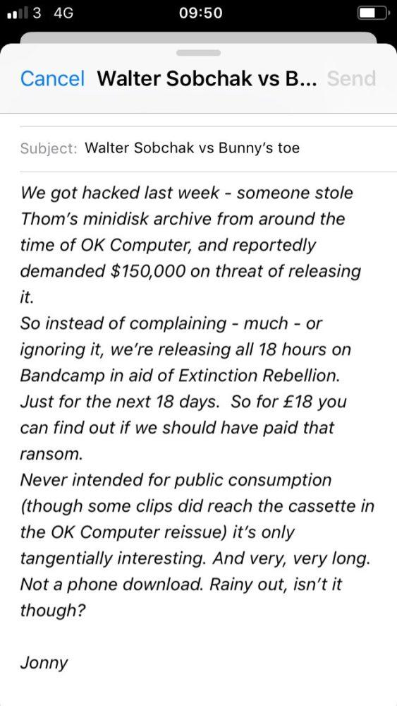 Radiohead Hack