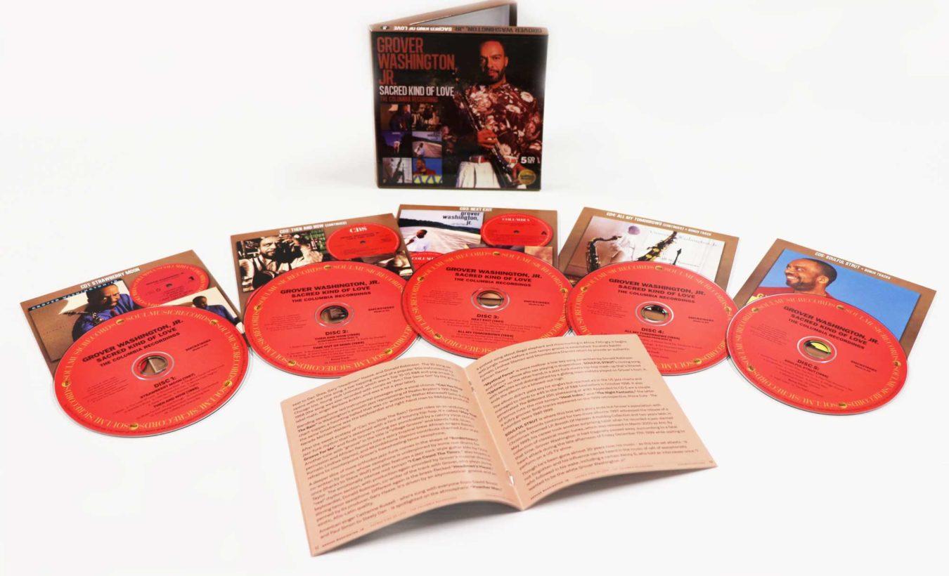 Grover Washington Jr – Sacred Kind Of Love – Album Review