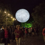 The moon at Blue dot © Melanie Smith