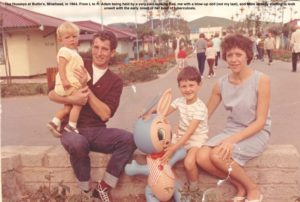 The Husseys at Butlin's, Minehead, 1964