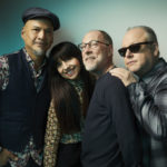 L-R:  Joey Santiago, Paz Lenchantin, David Lovering, Black Francis