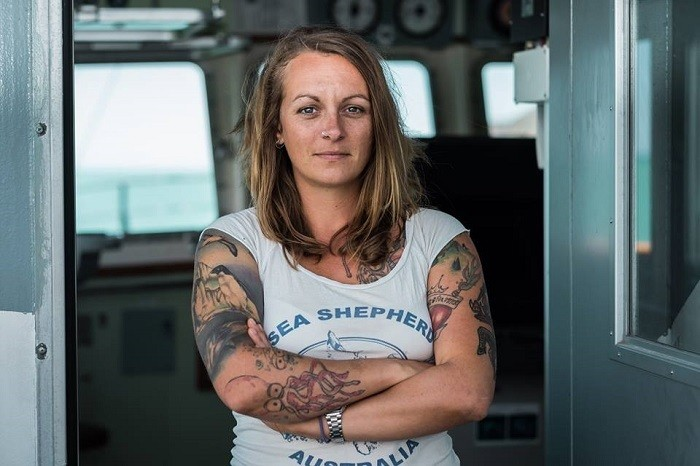 LTW icon of the day! meet Pia Klemp 'Sea Shepherd captain on trial in Italy for saving drowning migrants'