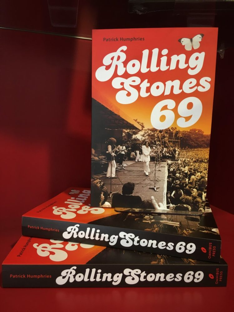 Rolling Stones 69 book cover