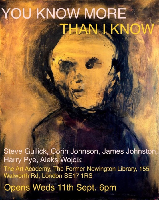 James Johnston and Steve Gullick announce special art show