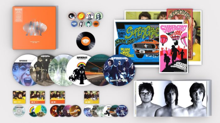 Supergrass - tour and best of box set package - news