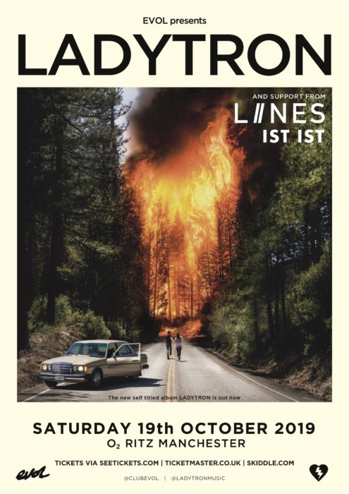 Recommended gig! Ladytron/LIINES/Ist Ist Manchester