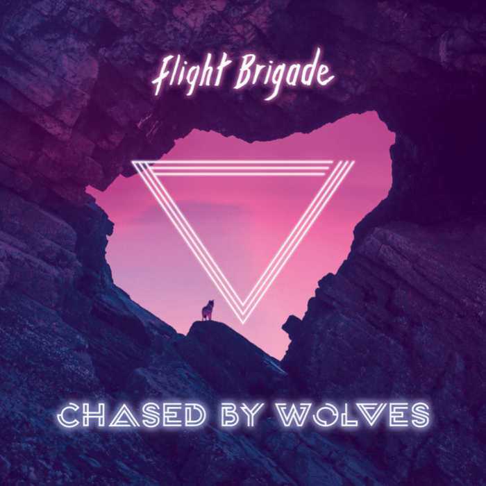 Flight Brigade Chased By Wolves album cover