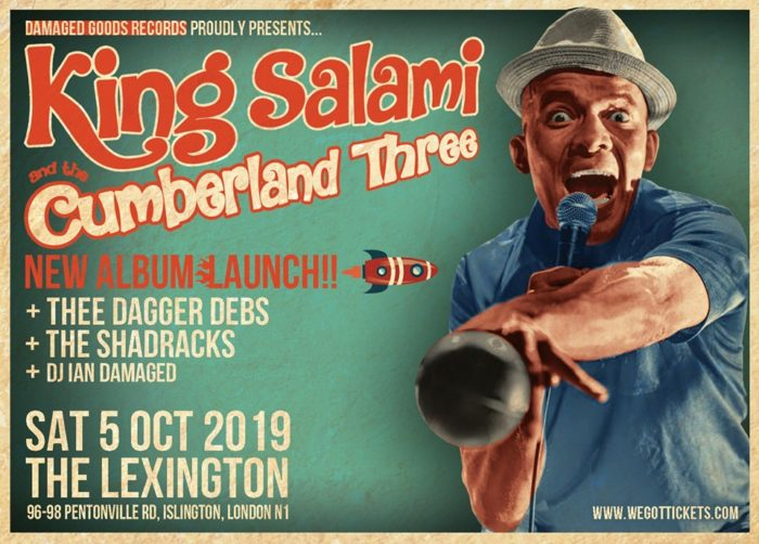King Salaimi and The Cumberland 3 release party