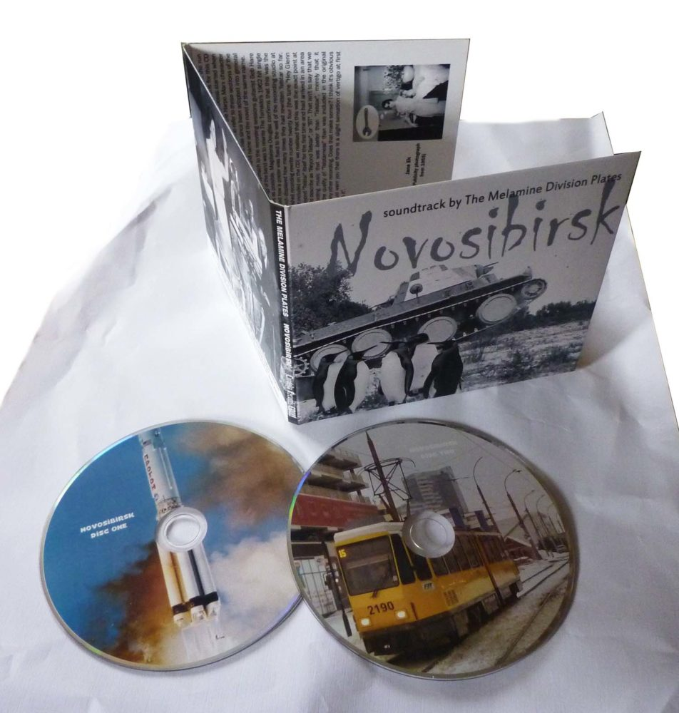 The Melamine Division Plates – Novosibirsk – album review