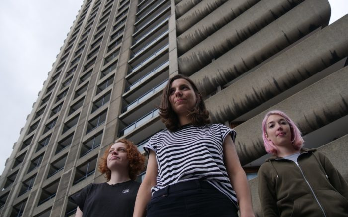 Watch This! Post Punk Trio Berries Premiere Video for New Single Silent