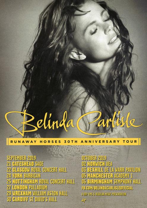 Belinda Tour poster