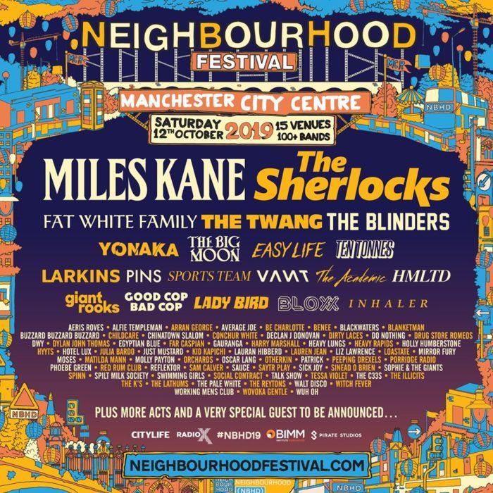 Neighbourhood Festival – Manchester October 12 – preview