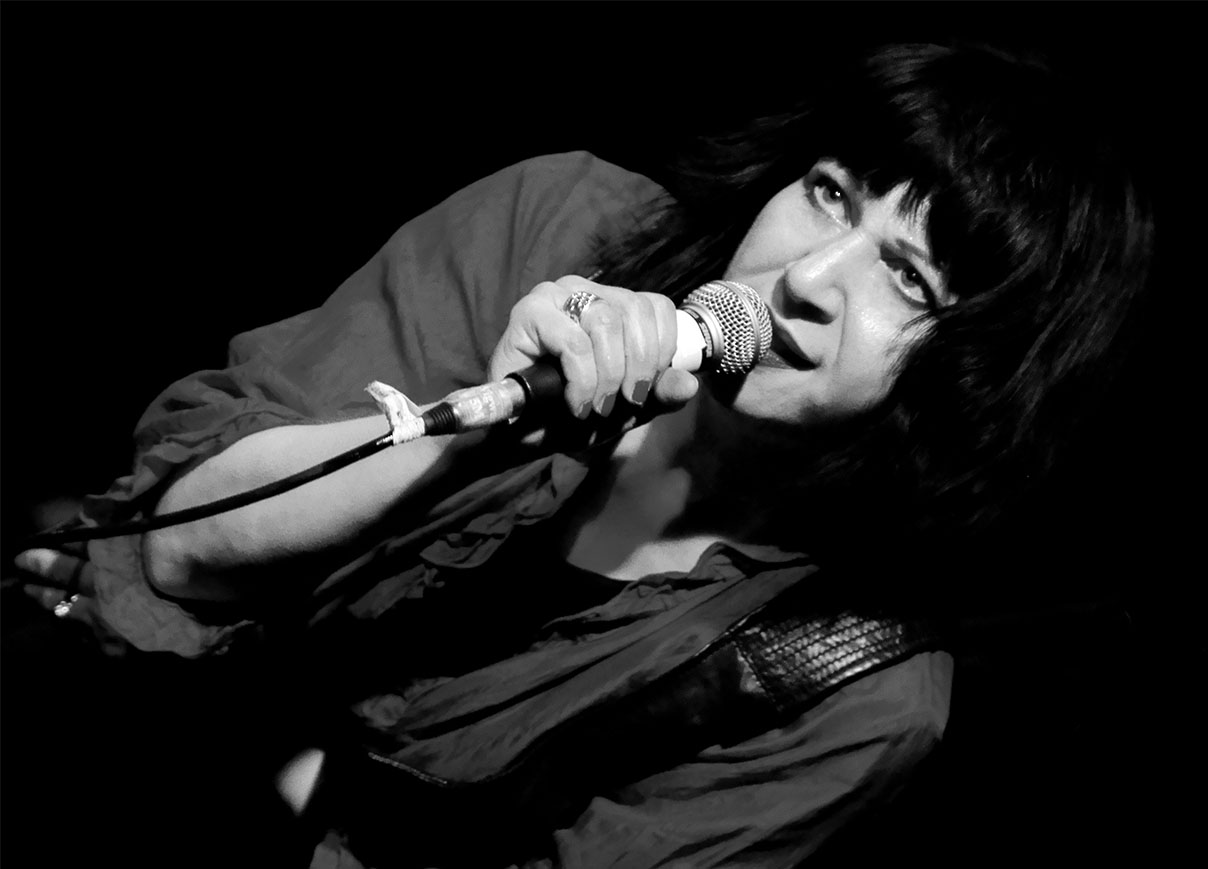 Lydia Lunch by Phil King