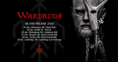 Gorillaz Tour 2020.Wardruna Sign To Sony And Announce 2020 Uk Tour