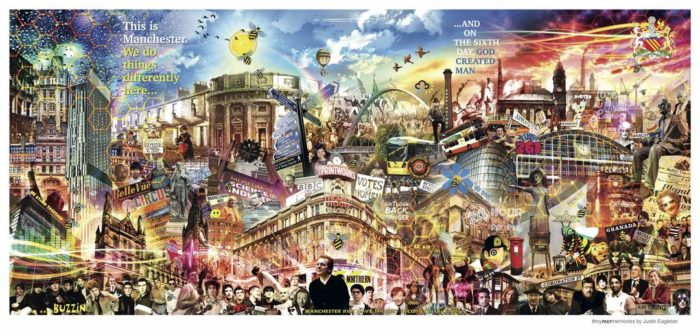Major new Manchester music and culture mural unveiled (and prints of it available for charity)