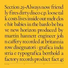 Section 25 – Always Now –  album review