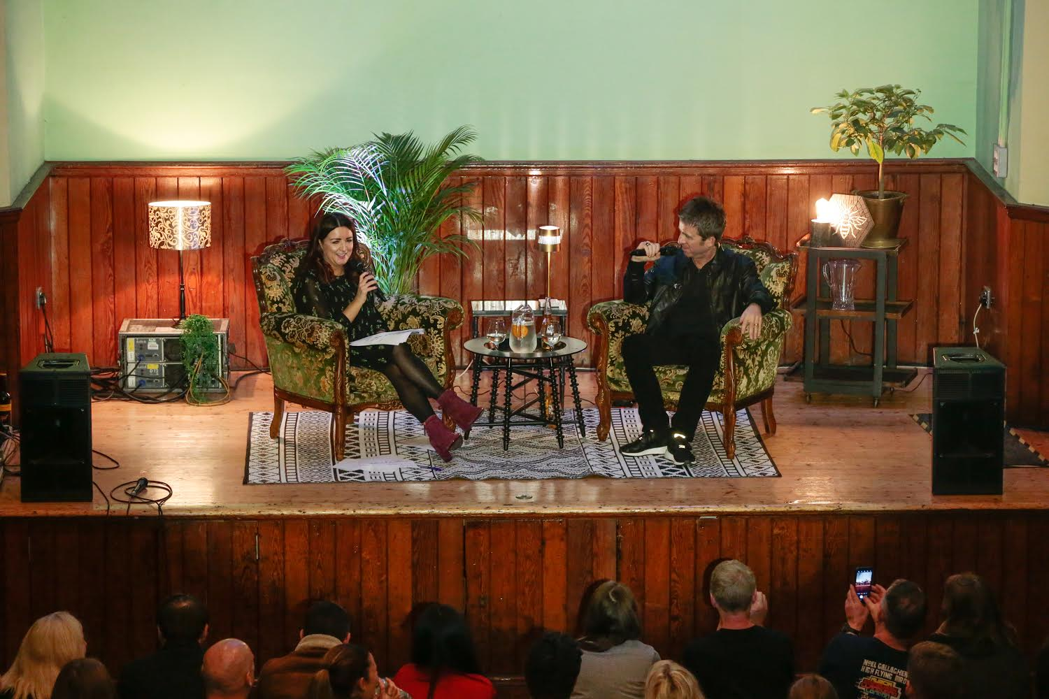 Noel Gallagher in conversation as Salford Lads Club – full report on event that raised 8 grand for charity