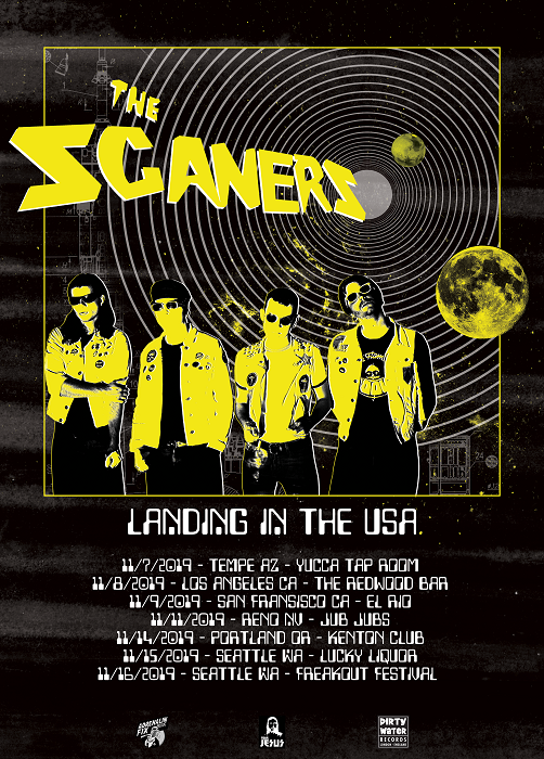 The Scaners US tour