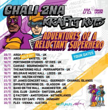 Chali 2na & Krafty Kuts Tour