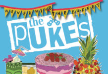 The Pukes Never Mind The Buffet CD cover
